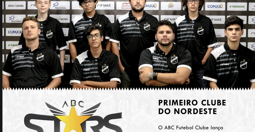 ABC Futebol Clube lança equipe de e-Sports