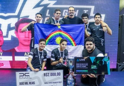 Light Storm campeã Split 1 – Temporada 3